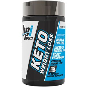 Keto Weight Loss 75 Capsules BPI Sports