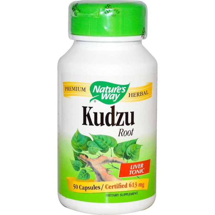 Kudzu Root 613mg 50 Capsules Nature's Way