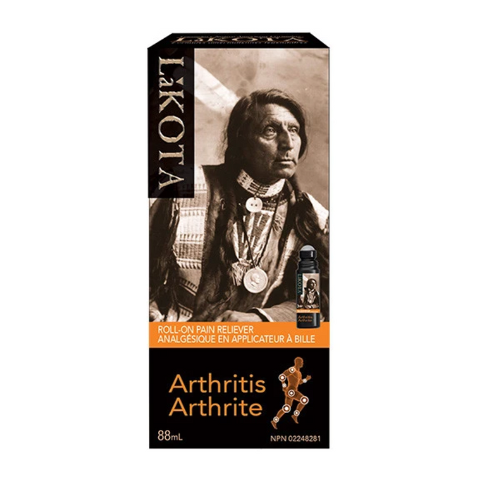 LaKOTA Arthritis Roll-On Pain Reliever 88ml