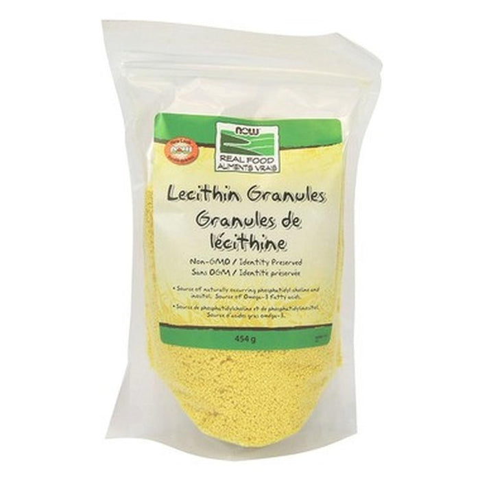 Lecithin Granules Non-GMO 454g Now Foods