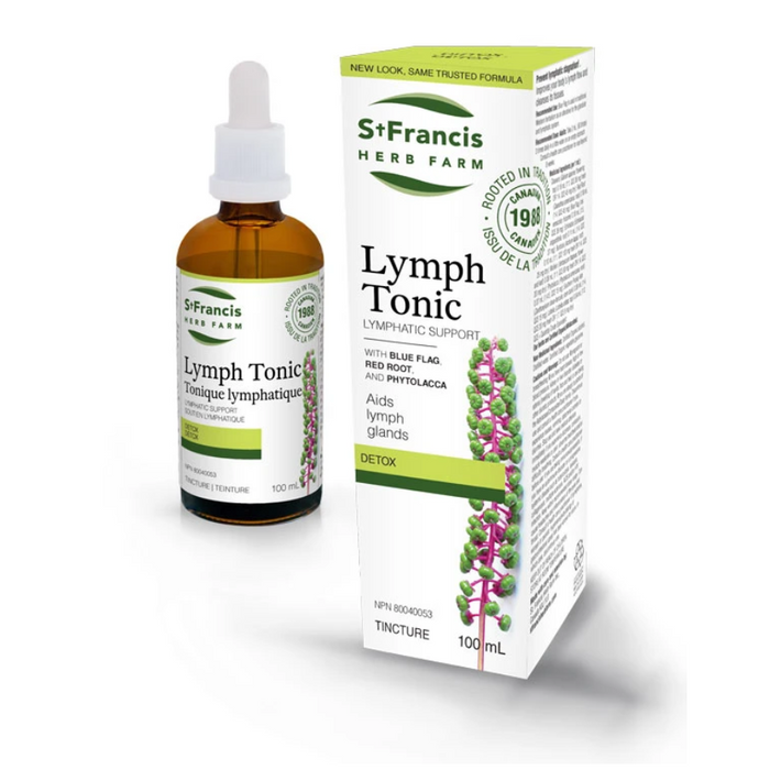 Lymph Tonic Lymphatic Support Tincture 100ml St. Francis Herb Farm
