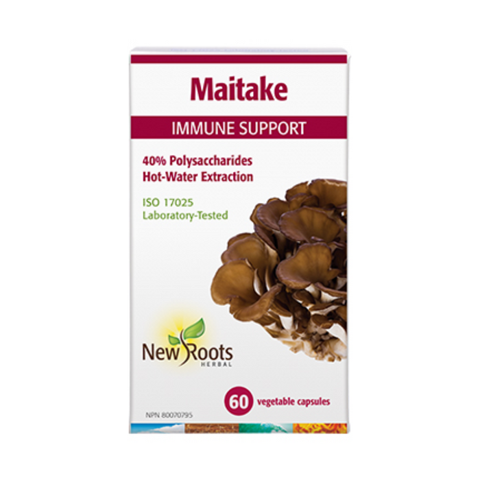 Maitake Immune Support 60 Capsules New Roots Herbal