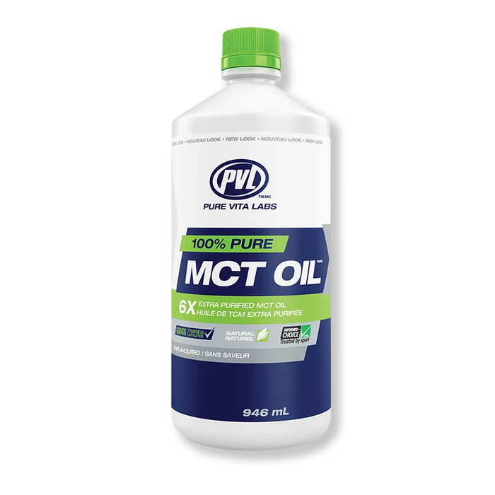 100% Pure MCT Oil 946ml PVL