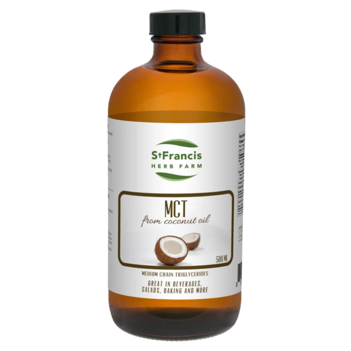 MCT Oil from Coconut Oil 500ml St. Francis Herb Farm