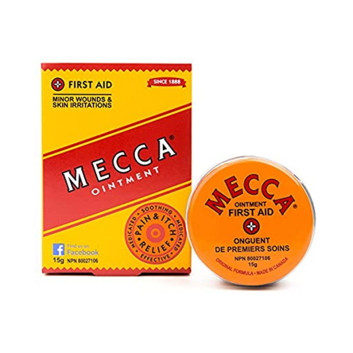 Mecca Ointment for Minor Skin Wounds & Skin Irritations 15g