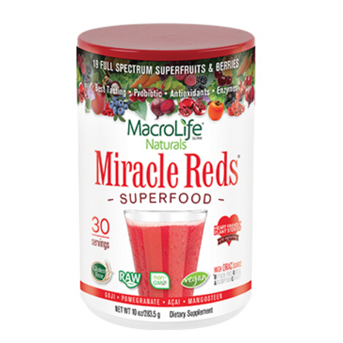 Miracle Reds Superfood 30 Servings MacroLife Naturals