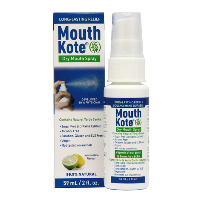 Mouth Kote Dry Mouth Spray Lemon-Lime 59ml