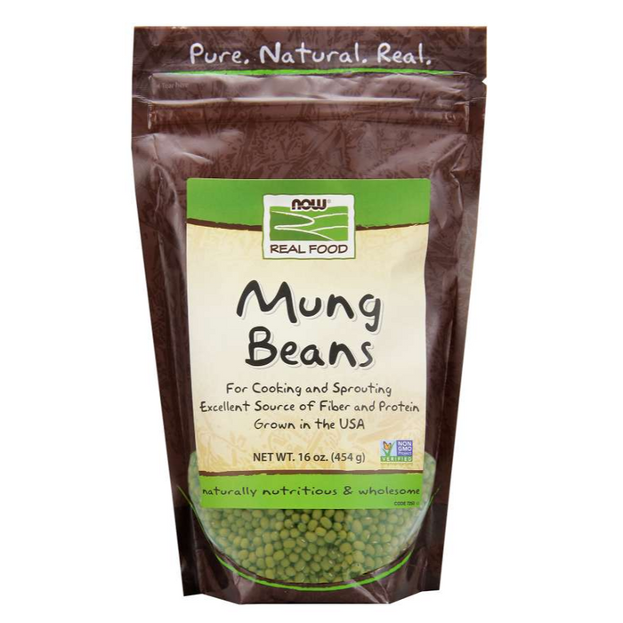 Mung Beans 454g Now Foods