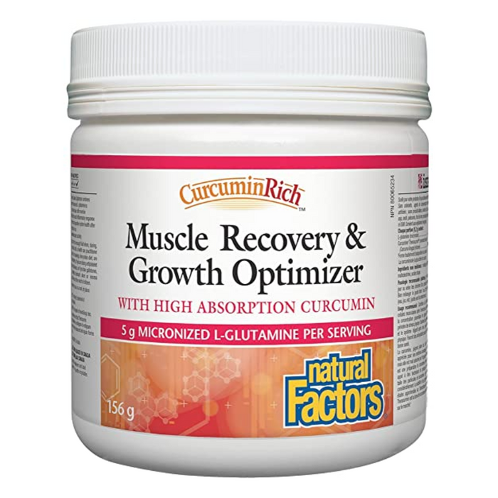 CurcuminRich Muscle Recovery & Growth Optimizer 156g Natural Factors