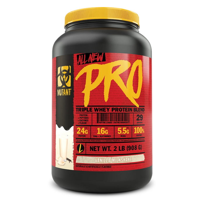 PRO Triple Whey Protein Blend 2lbs Mutant