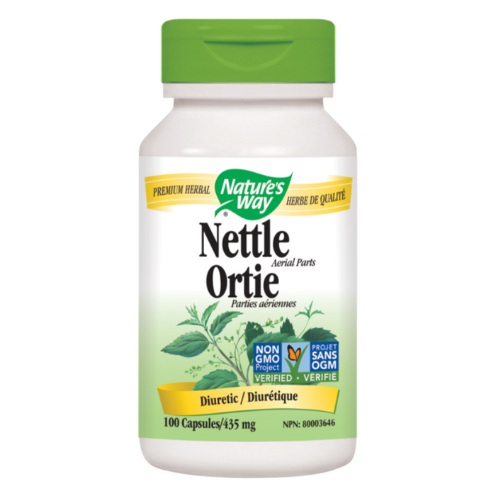 Nettle 435mg 100 Capsules Nature's Way