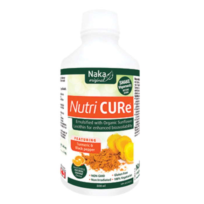 Nutri Cure 500ml Liquid Formula Natural Orange Flavour Naka