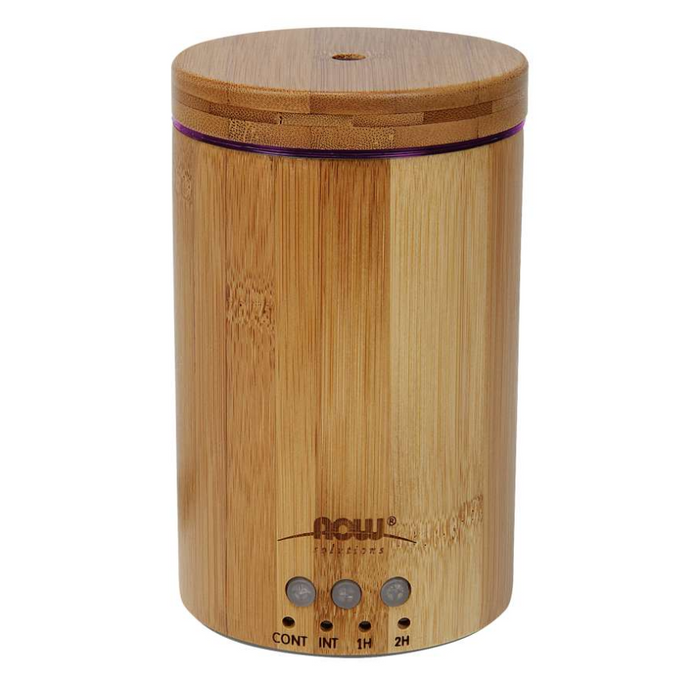 Real Bamboo Ultrasonic Oil Diffuser Now Foods