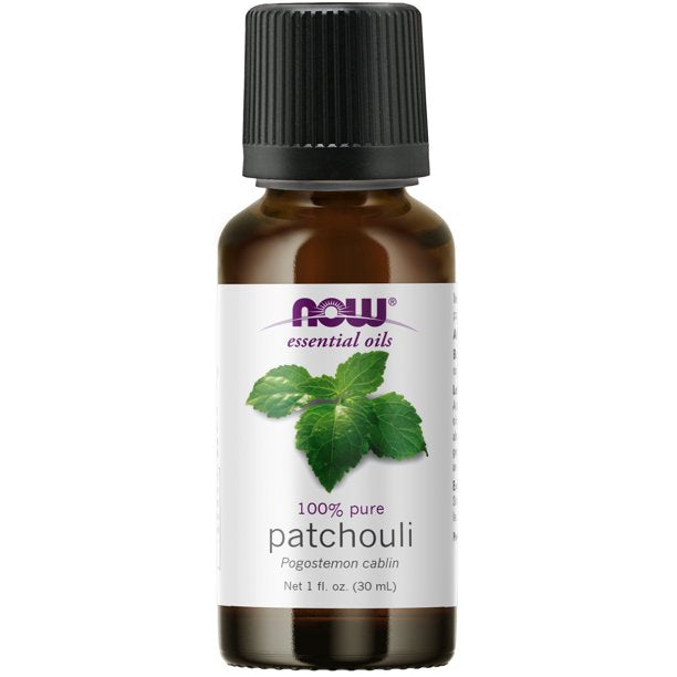 Patchouli 100% Pure Essential Oil 30ml Now Foods