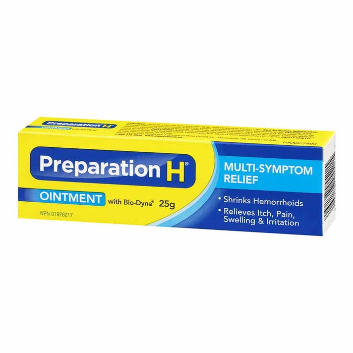 Preparation H Multi Symptom Relief Ointment 25g