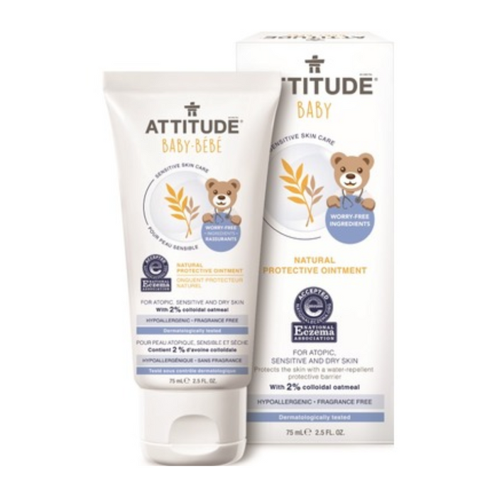 Attitude Baby Natural Protective Ointment with 2% Colloidal Oatmeal