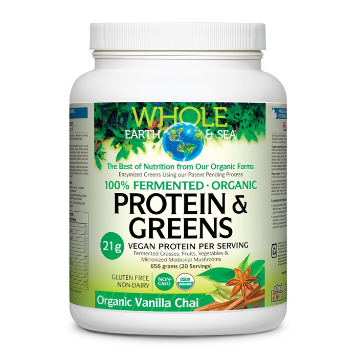 Protein & Greens 20 Servings Whole Earth & Sea