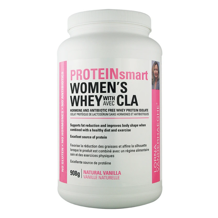 PROTEINsmart Women's Whey with CLA 908g Lorna Vanderhaeghe