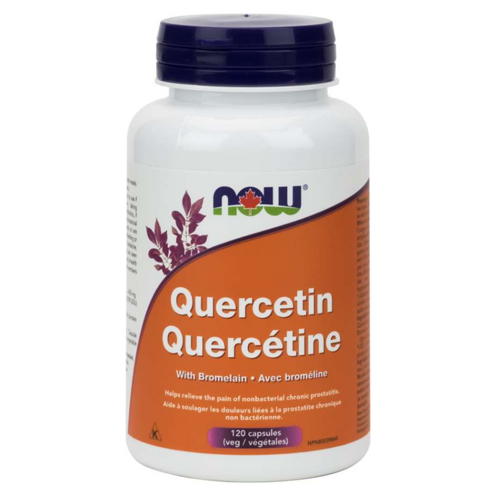 Quercetin with Bromelain 120 Capsules Now Foods