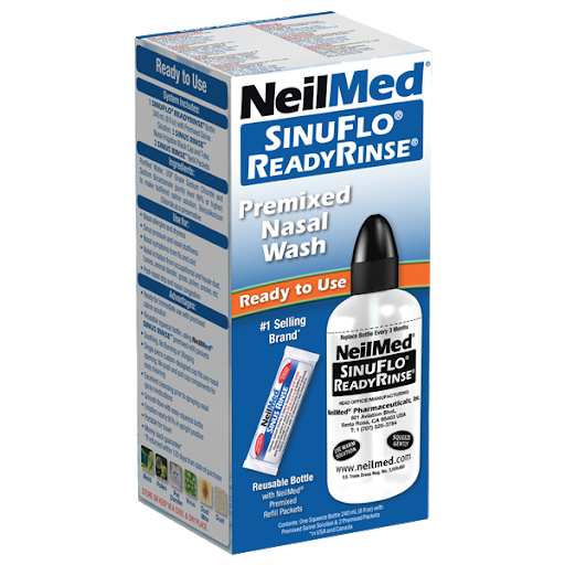 SinuFlo Ready Rinse Premixed Nasal Wash 240ml NeilMed