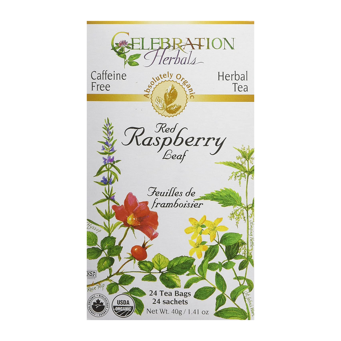 Red Raspberry Leaf Herbal Tea 24 Tea Bags Celebration Herbals