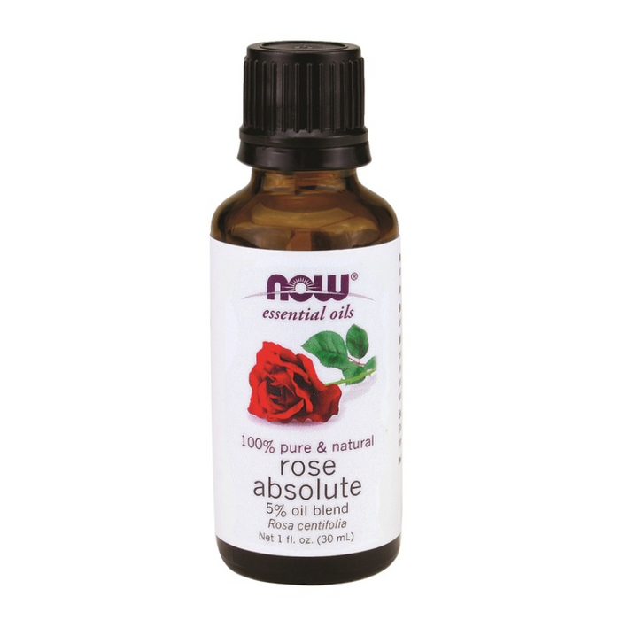 Rose Absolute 5% Essential Oil Blend 30ml Now Foods