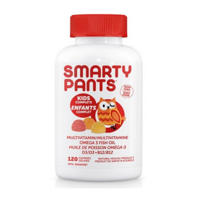 Smarty Pants Kids Complete Multivitamin 120 Gummies
