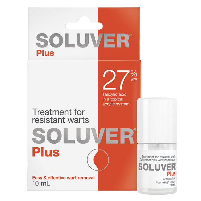 Soluver Plus Wart Removal Treatment 27% Salicylic Acid