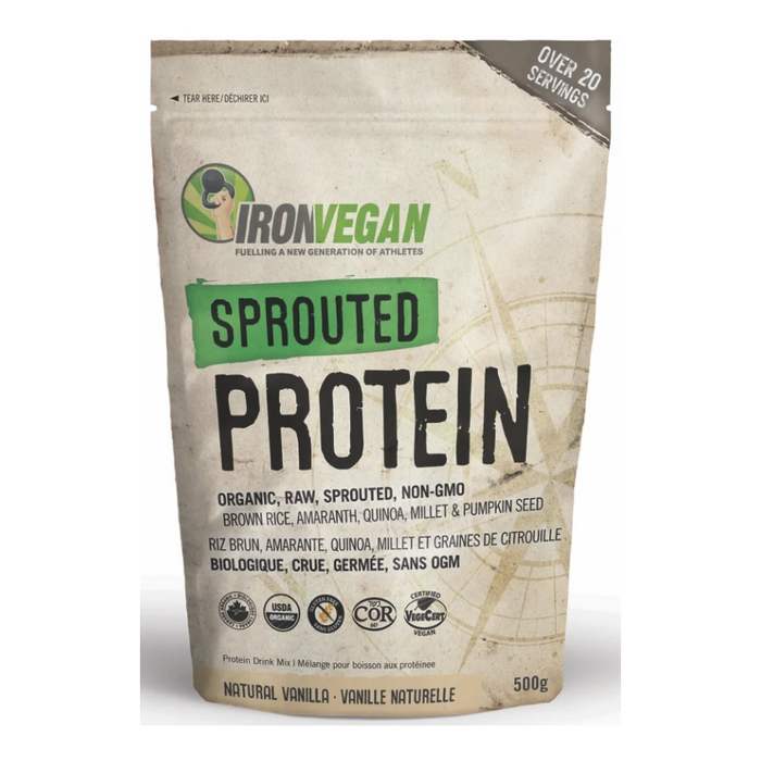 Sprouted Protein 500g Iron Vegan