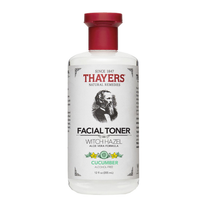 Witch Hazel Facial Toner with Aloe Vera (Alcohol Free) 355ml Thayers
