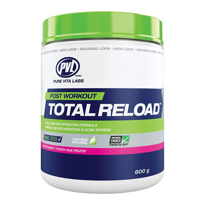 Total Reload Post Workout Fruit Punch Flavour PVL