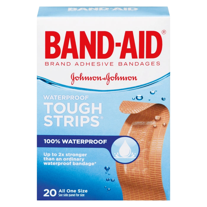 Band-Aid Waterproof Tough Strips