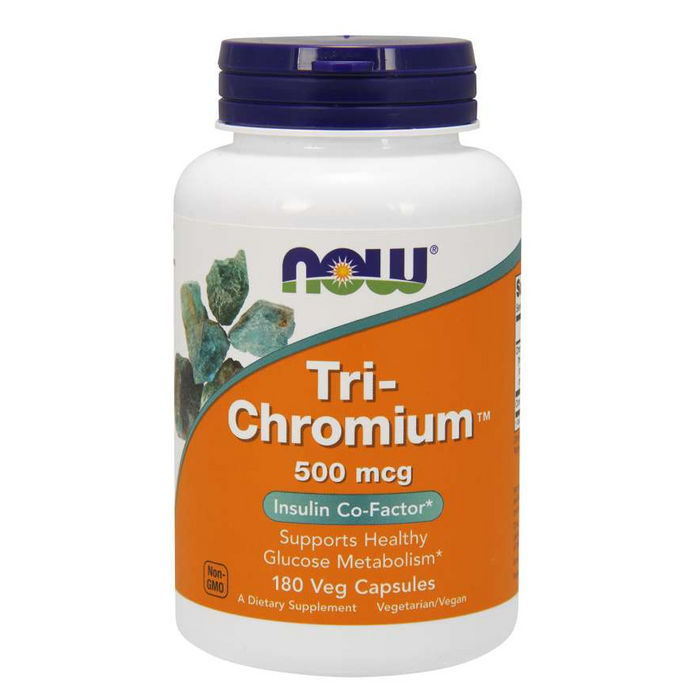 Tri-Chromium with Cinnamon Bark 500mcg 90 Capsules Now