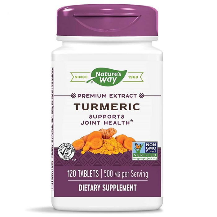 Turmeric 500mg 120 Capsules Nature's Way