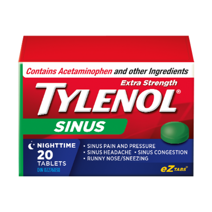Tylenol Sinus Extra Strength 20 Tablets