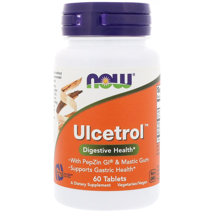 Ulcetrol with PepZin GI & Mastic Gum 60 Tablets Now