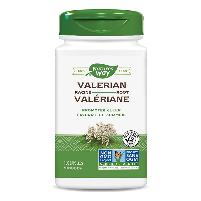 Valerian Root Capsules 530mg Nature's Way