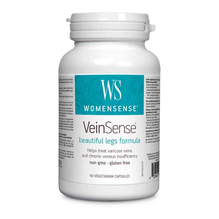 VeinSense Beautiful Legs Formula 90 Capsules Womensense