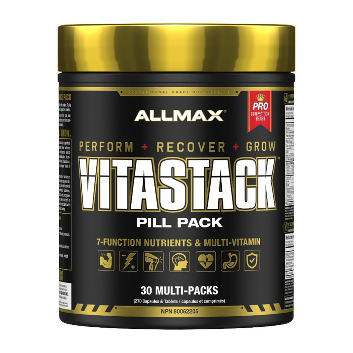VitaStack Multi-Vitamin Pill Pack 30 Packs Allmax