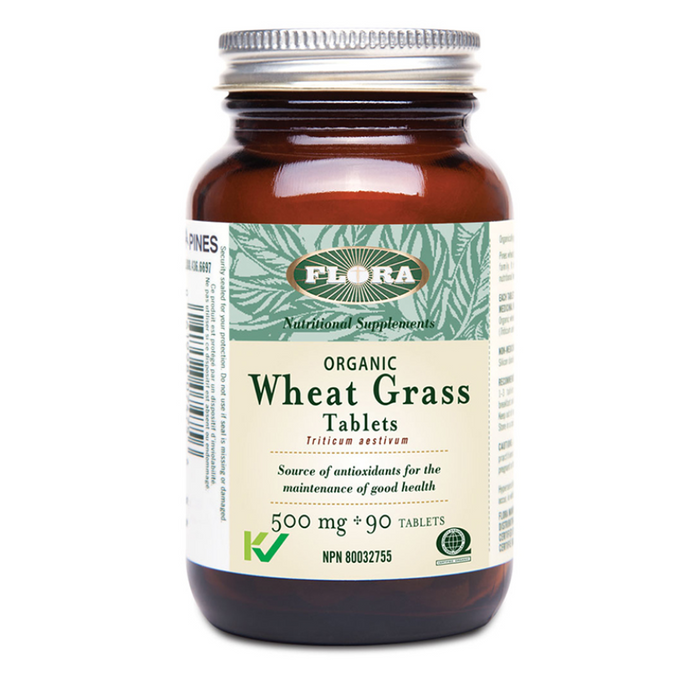 Organic Wheat Grass 500mg Flora