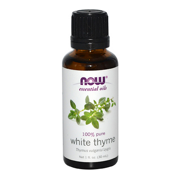 White Thyme 100% Pure Essential Oil 30ml Now Foods