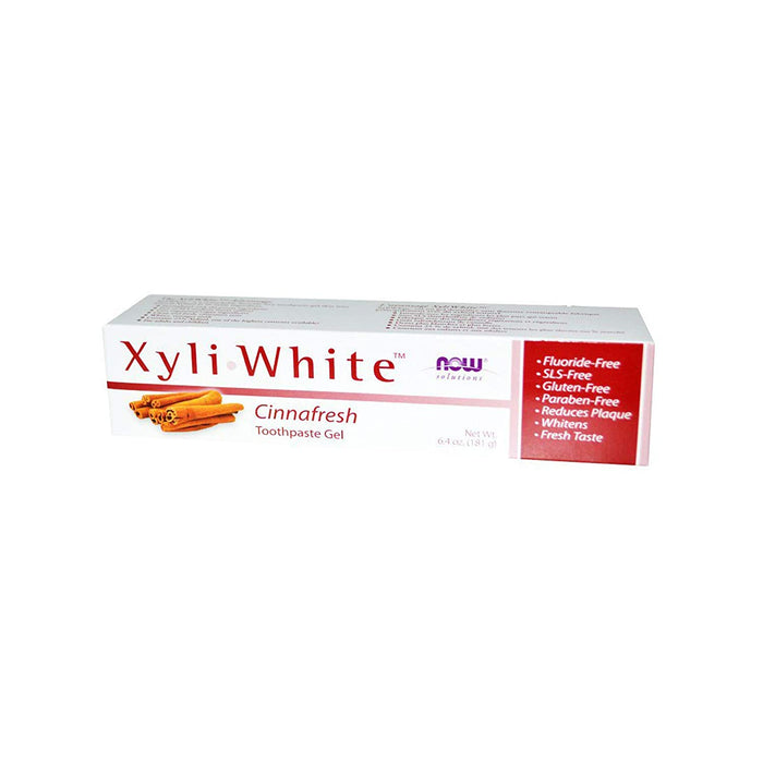 XyliWhite Toothpaste Gel 181g Now Foods