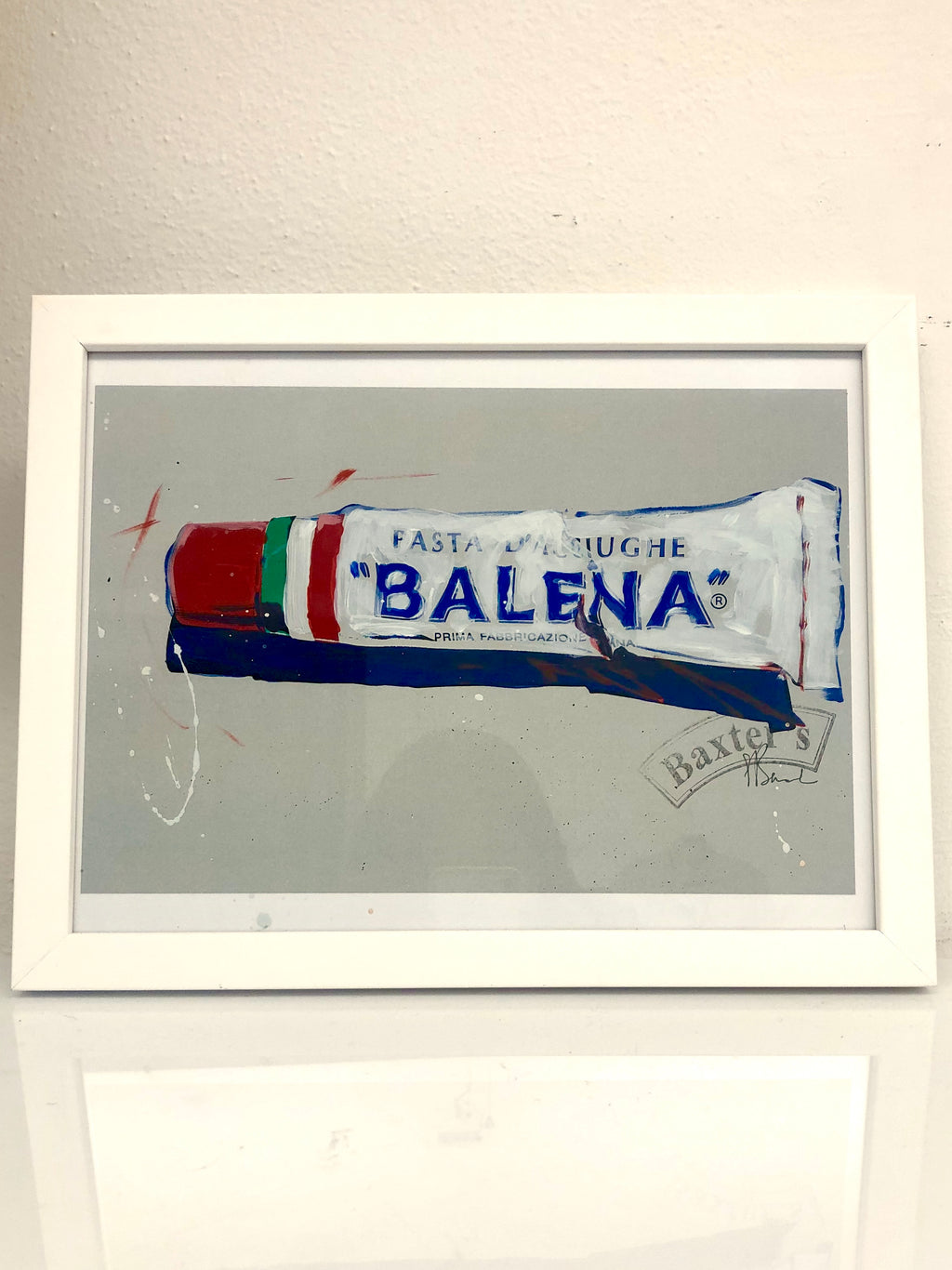 "Painting ""BALENA"" Pop Art. Dipinto BALENA"