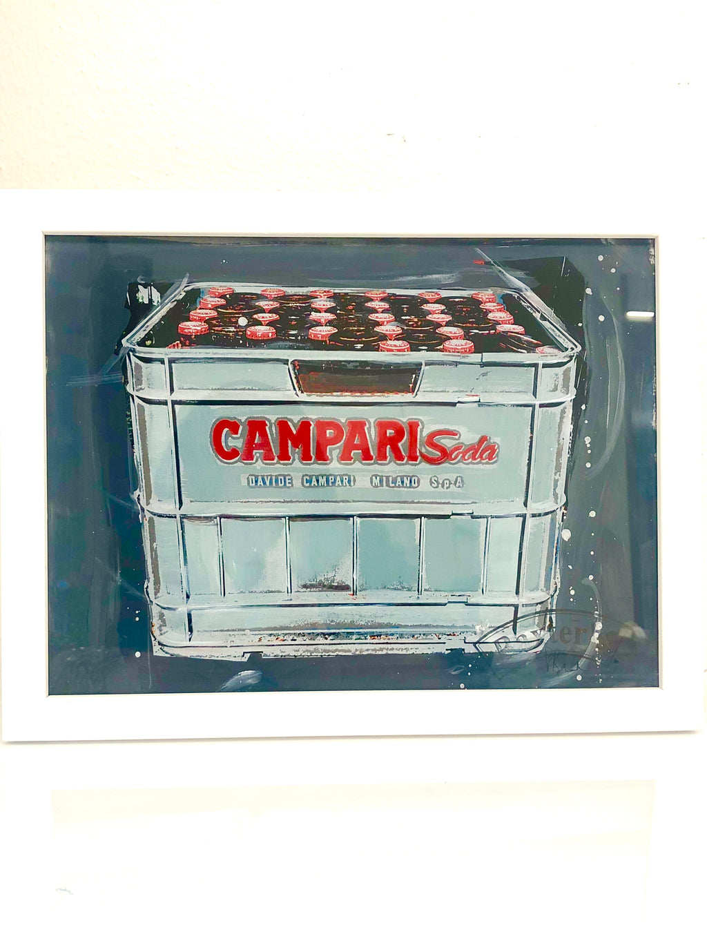 Painting CAMPARI Case (Dark)