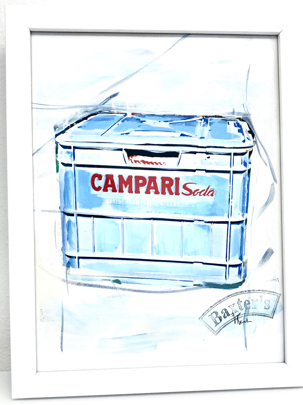 Painting CAMPARI SODA Case (light)