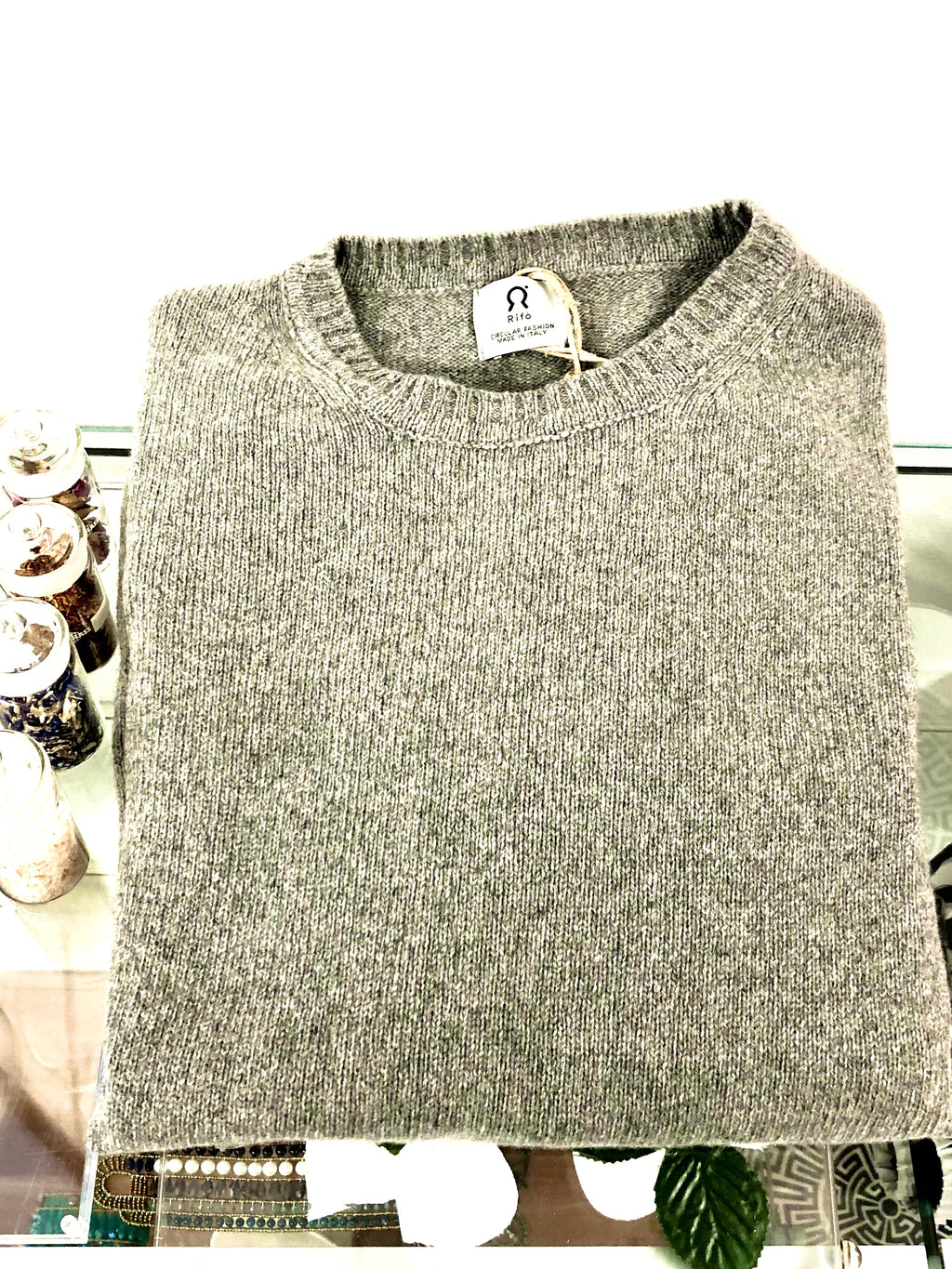 For Men. Recycled Cashmere Sweater