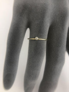 Jewelry . Sterling Silver Ring dipped in Gold Ring size 52