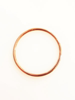 Jewelry . FEDINA ORO , Simple Gold Band Stackable or Singularly Pure