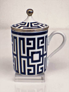 Richard Ginori Mug con Coperchio Zaffiro (CUP with COVER, BLUE)