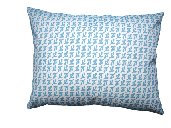 Birds' Feet pillow coastal blue CBF15